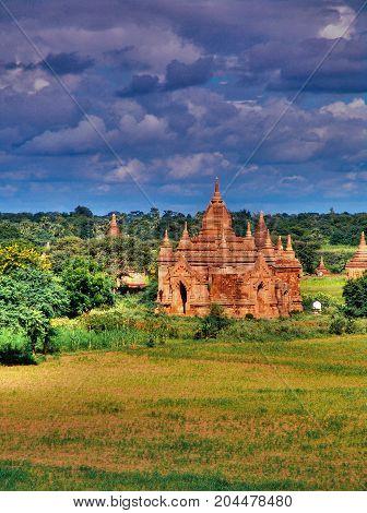 Myanmar, Bagan - View On Pagoda Nb.1