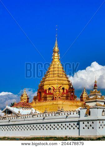 Myanmar, Inle Lake - Main Paya Top