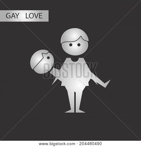 black and white style icon homosexual gays lovers