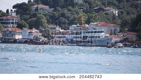 Samsung Bosphorus Cross Continental Swimming Competition 2017