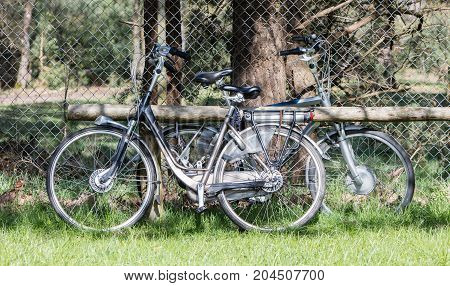 Electric Bicycle, Modern Bike Mostly Used By Seniors