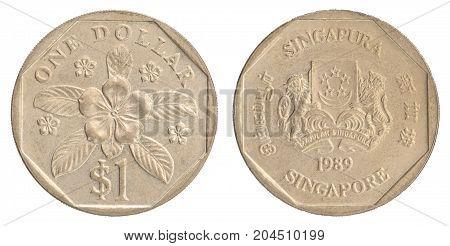 Singaporean Dollar Coin