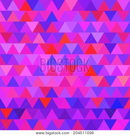 abstract vector geometric triangle background - purple and violet
