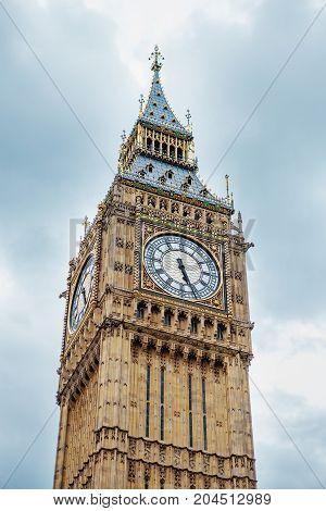 Big Ben, London, Uk.