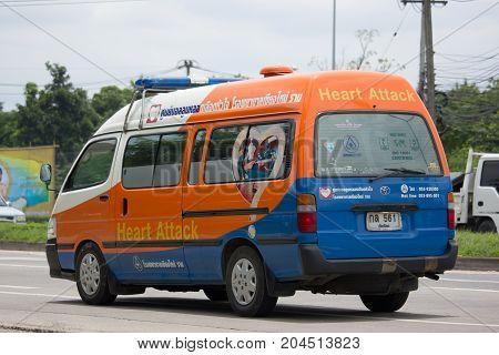Ambulance Van Of Chiangmai Ram Hospital