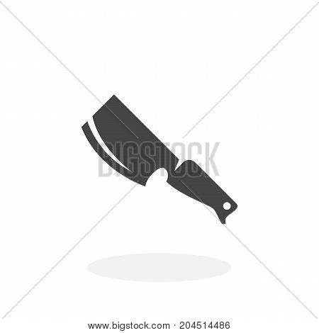 Knife icon isolated on white background. Knife vector logo. Flat design style. Modern vector pictogram for web graphics - stock vector