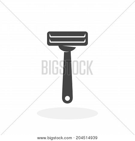 Razor icon isolated on white background. Razor vector logo. Flat design style. Modern vector pictogram for web graphics - stock vector