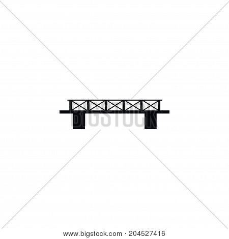 Infrastructure Vector Element Can Be Used For Connection, Rope, Infrastructure Design Concept.  Isolated Connection Rope Icon.