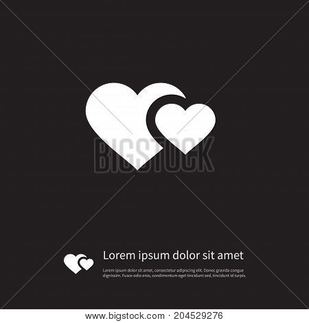 Soul Vector Element Can Be Used For Heart, Soul, Love Design Concept.  Isolated Hearts Icon.