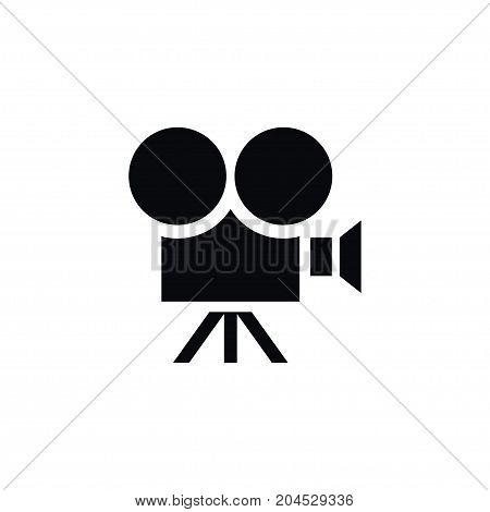 Production Vector Element Can Be Used For Camera, Production, Equipment Design Concept.  Isolated Camera Icon.