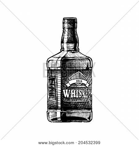 Illustration Of Whiskey
