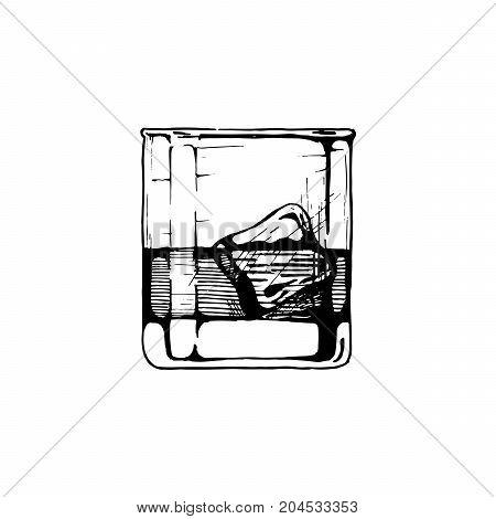 Illustration Of Tumbler Glass