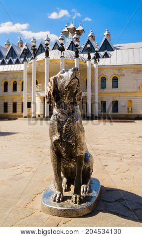 Voronezh.Russia - April 11 2010: Famous monument to the hero of Troepolsky's book