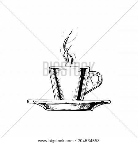 Illustration Of Espresso Cup