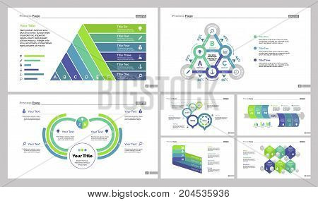 Infographic design set can be used for workflow layout, diagram, annual report, web design. Business and marketing concept with options, timeline and workflow charts