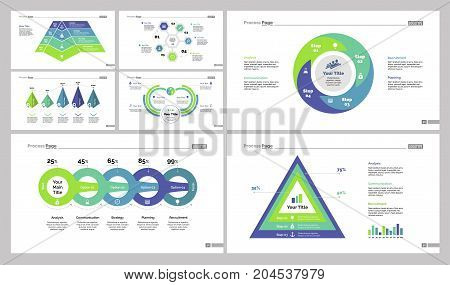 Infographic design set can be used for workflow layout, diagram, annual report, web design. Business and marketing concept with comparison, options and area chart
