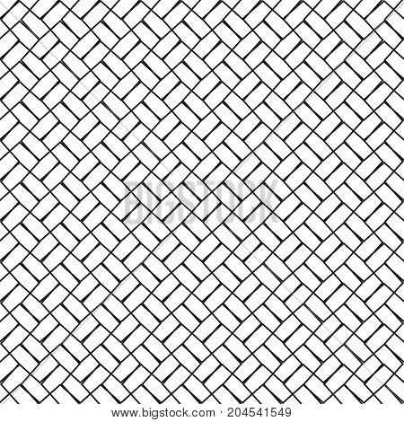 Mesh lines background. Seamless lined pattern. Vector illustration.