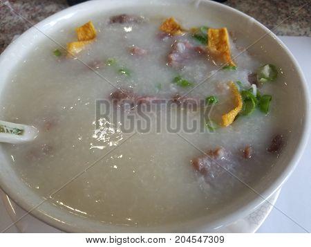 Delicious Beef Porridge