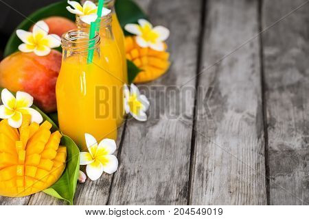 Mango Juice Background