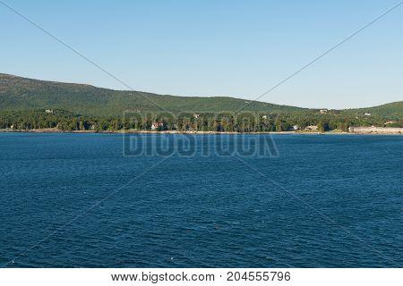 Resorts and marina Bar Harbor Mount Desert Island Maine