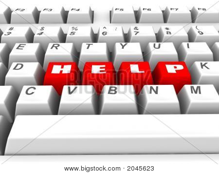 Keyboard. Help