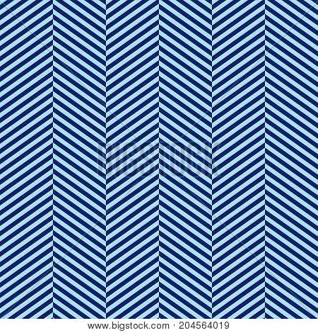Seamless Abstract Blue Herringbone Pattern Background Texture