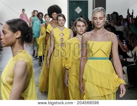 Leanne Marshall Spring/summer 2018