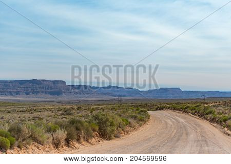 Dirt Road Through Utah Wilderness