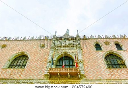 Duks palace on st. Marks square at Venice, Italy