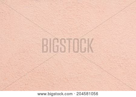 Texture of rough wall. Rectangular pink background. Pastel.