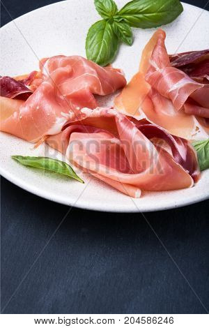 Sliced Of Spanish Jamon