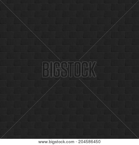Seamless square geometric pattern. Gradient quadrants. Bricks wall vector illustration.