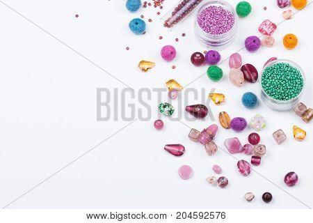 Beads Closeup