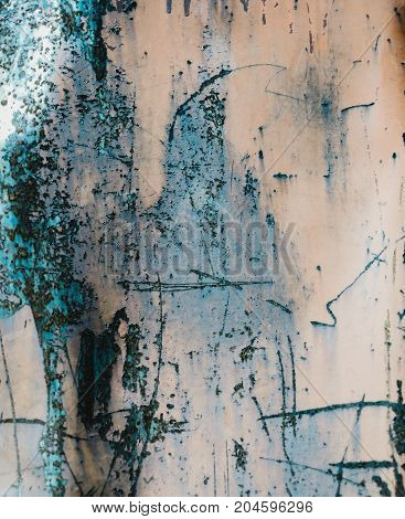 Old rusty metallic surface with scratches texture.