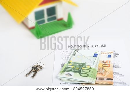 How to buy a house with cash and get key