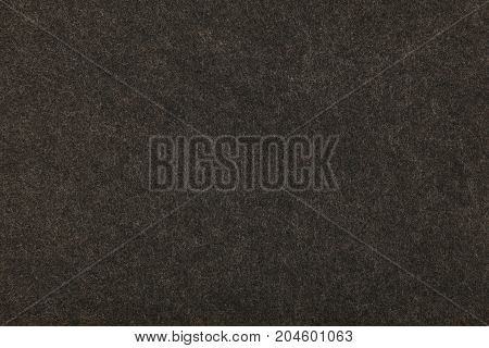 Grey Or Black Felt Background Texture Close Up