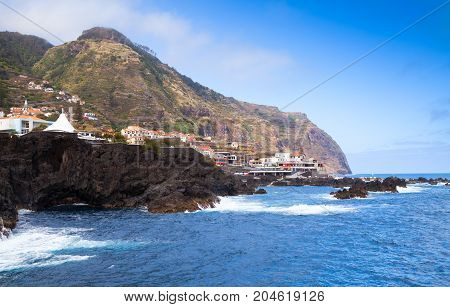Coastal Landscape Of Porto Moniz, Madeira