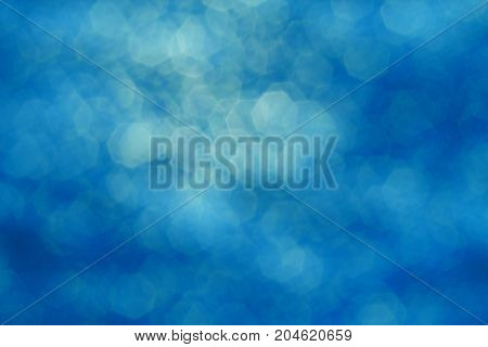 The Light Blue With White Hexagon Blurred  Background