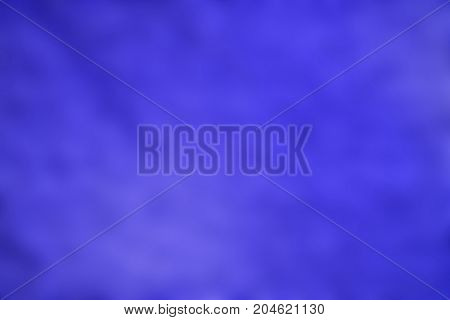 The Beautiful Of  Blurred  Blue  Light Background