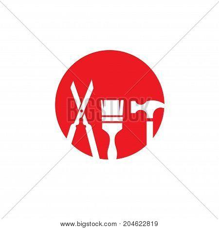 Mechanic service logo idea repair creative symbol concept