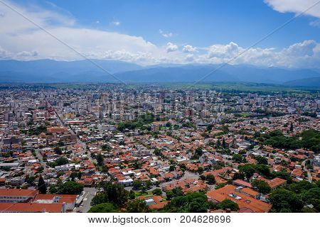 Salta, Argentina, Aerial View