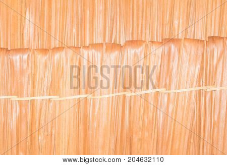 surface thatch roof leaf vintage style ancient background with copy space add text