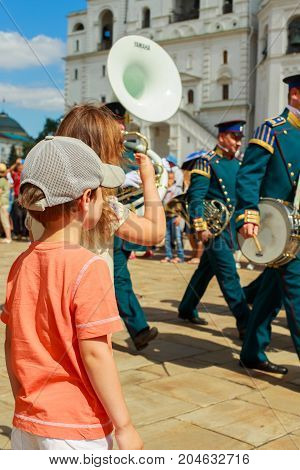 Change Of Guard In The Kremlin In Moscow