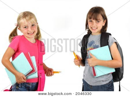 Sisters Ready For School
