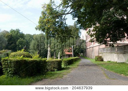 Historical Chateau With Garden And Park In Libochovice
