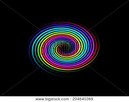 Abstraction on a background wallpaper texture circle palette texture colorful style design