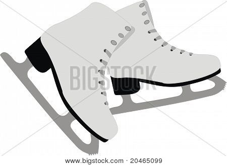 The female skates