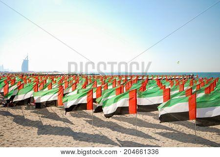 Celebration of National Day - Day of the United Arab Emirates