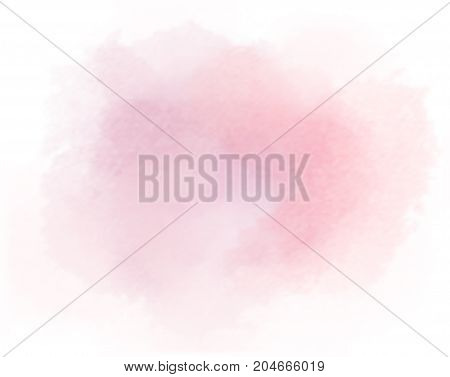 salmon watercolor splotch vector painted water color pink background