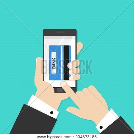 Pay with credit card for buy anything you want